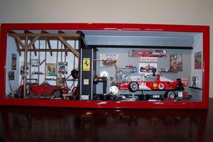 tableau 3d Double garage 1/2 Formule 1-1/2 tourisme Patrick Richard Quirao idées cadeaux