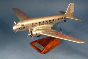 maquette d'avion Douglas DC-2 KLM - 54 cm Pilot's Station Quirao idées cadeaux