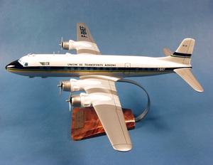 maquette d'avion Douglas DC-6 - UTA - 50 cm Pilot's Station Quirao idées cadeaux