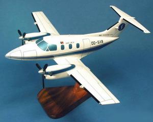 maquette d'avion Embraer 121 Xingu Sabena   Pilot's Station Quirao idées cadeaux