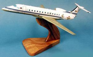 maquette d'avion Embraer 145 Armée de l'Air Belge  Pilot's Station Quirao idées cadeaux