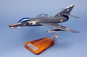maquette d'avion Etendard IV.M Flottille 17.F - 41 cm Pilot's Station Quirao idées cadeaux