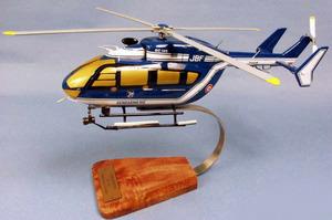 maquette d'helicoptère EC-145 Gendarmerie - 36 cm Pilot's Station Quirao idées cadeaux