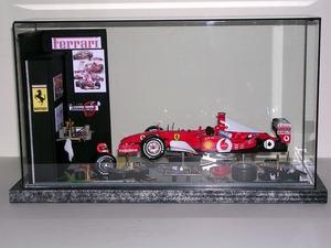 tableau 3d F1 Stand sous verre Patrick Richard Quirao idées cadeaux
