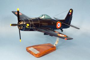 maquette d'avion Grumman F-8F Bearcat - II/8 Languedoc - 47 cm Pilot's Station Quirao idées cadeaux