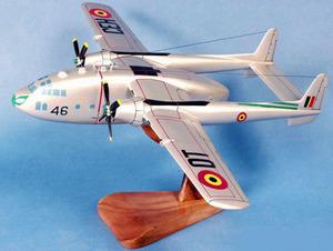 maquette d'avion Fairchild C119 Armée de l Air Belge  Pilot's Station Quirao idées cadeaux