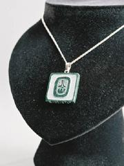 jewelry Glifo Maya Akbal Simbolica