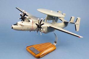 maquette d'avion Grumman Hawkeye E2C Flottille 4F - 51 cm Pilot's Station Quirao idées cadeaux