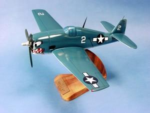 maquette d'avion Grumman F-6F Hellcat - USN - 34 cm Pilot's Station Quirao idées cadeaux