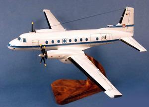 maquette d'avion Hawker Siddeley HS748 Armée  Air Belge Pilot's Station Quirao idées cadeaux