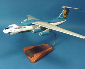 maquette d'avion Ilyushin IL-76T Candid - 50 cm Pilot's Station Quirao idées cadeaux