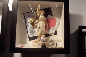 tableau 3d La justice Patrick Richard Quirao idées cadeaux