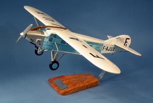 maquette d'avion Latécoère Laté 28-0 Aéropostale - 55cm Pilot's Station Quirao idées cadeaux