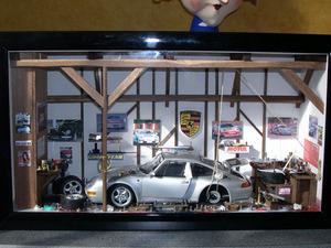 Car garage 3d scene by patrick richard for Garage patrick auto meyzieu