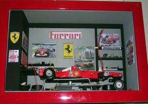 tableau 3d Le stand F1 Patrick Richard Quirao idées cadeaux