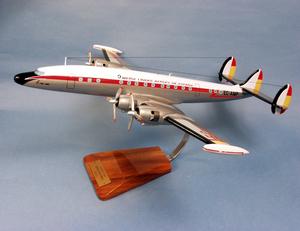maquette d'avion Lockheed L-1049 Iberia Super G- 53 cm Pilot's Station Quirao idées cadeaux