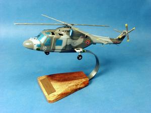 maquette d'helicoptère Lynx MK2 Aéronavale - 36 cm Pilot's Station Quirao idées cadeaux