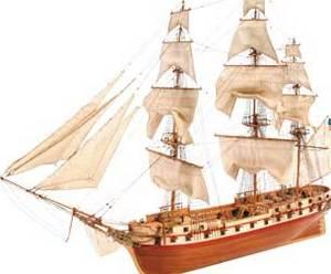 bateau à assembler U.S. Constellation (American Frigate 1798) - Kit Artesania Latina Quirao idées cadeaux