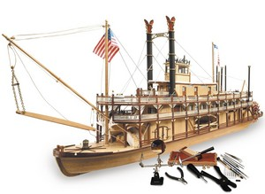 bateau à assembler Le Mississippi - Kit Artesania Latina Quirao idées cadeaux