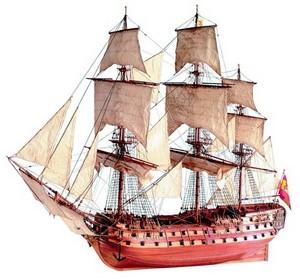 bateau à assembler San Juan Nepomuceno 1765 - Kit Artesania Latina Quirao idées cadeaux