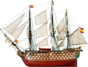 bateau à assembler Santa Ana 1784 - Kit Artesania Latina Quirao idées cadeaux