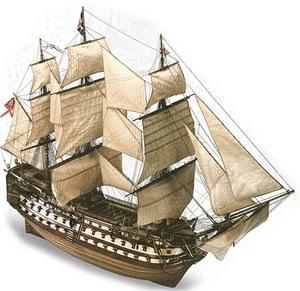 bateau à assembler H.M.S. Victory - Kit Artesania Latina Quirao idées cadeaux