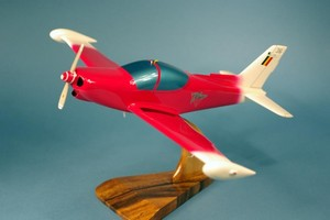 maquette d'avion SF-260 Marchetti - Red Demonstrator Pilot's Station Quirao idées cadeaux