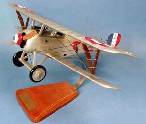 maquette d'avion Nieuport 17 - N1531 Vieux Charles IV- 49 cm Pilot's Station Quirao idées cadeaux