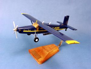 maquette d'avion Pilatus PC-6 Turbo-Porter - 47 cm Pilot's Station Quirao idées cadeaux