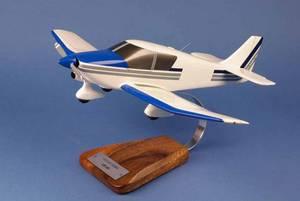 maquette d'avion Robin DR.400 blanc / bleu - Civil - 43 cm Pilot's Station Quirao idées cadeaux