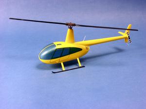 maquette d'helicoptère Robinson R-44 - Civil - 34 cm Pilot's Station Quirao idées cadeaux
