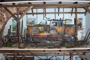 tableau 3d Locomotive Patrick Richard Quirao idées cadeaux