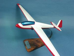 maquette d'avion ASK-13  Planeur - 67 cm Pilot's Station Quirao idées cadeaux