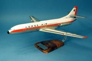 maquette d'avion SE-210 Caravelle VI Corse Air Pilot's Station Quirao idées cadeaux