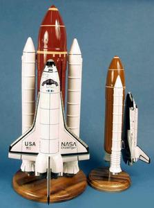véhicule spatial Challenger Space Shuttle & Booster - 52 cm Pilot's Station Quirao idées cadeaux