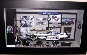 tableau 3d Stand F1 + bruit moteur Patrick Richard Quirao idées cadeaux
