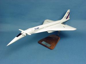 maquette d'avion Tupolev Tu-144S Aeroflot CCCP-77102 - 66 cm Pilot's Station Quirao idées cadeaux