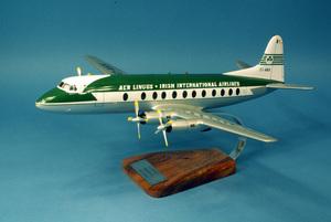 maquette d'avion Vickers Viscount type 808 AER Lingus EI-AKK - 41 cm Pilot's Station Quirao idées cadeaux