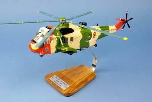 maquette d'helicoptère Westland Sea King MK.48 Belgian Air Force - 41 cm Pilot's Station Quirao idées cadeaux