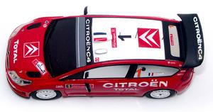 miniature de voiture Citroën C4 Wrc Rallye du Portugal 2007 Challange Quirao idées cadeaux
