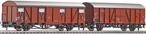 train miniature Coffret 2 wagons couverts  Krone  (Roco 66004) Roco Quirao idées cadeaux