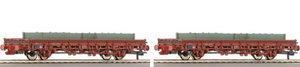 train miniature Coffret 2 wagons plats DB (Roco 66014) Roco Quirao idées cadeaux
