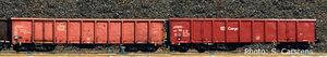 train miniature Coffret 2 wagons tombereaux Eanos DB AG (Roco 66009) Roco Quirao idées cadeaux