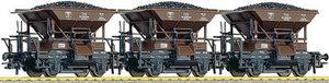 train miniature Coffret 3 wagons à ballast ÖBB (Roco 66007) Roco Quirao idées cadeaux