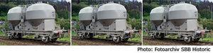 train miniature Coffret 3 wagons silo poudre charbon SBB CFF (Roco 66012) Roco Quirao idées cadeaux