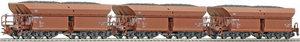 train miniature Coffret 3 wagons transport minerai DB (Roco 66003) Roco Quirao idées cadeaux