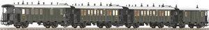 train miniature Coffret 4 voitures K.Bay.Sts.B. (Roco 64000) Roco Quirao idées cadeaux
