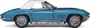 miniature de voiture Corvette Sting Ray, 327 Small Block L79 Roadster Exoto Quirao idées cadeaux