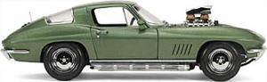 miniature de voiture Corvette Sting Ray, Street Machine, Elkhart Exoto Quirao idées cadeaux
