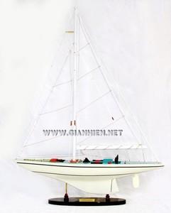 maquette de bateau, voilier, runabout Courageous - 60 cm Gia Nhien Quirao idées cadeaux